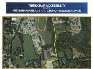 Wheelchair access from shoreham
